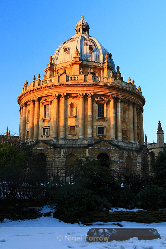 Radcliffe Camera from the University Church - Oxfordshire, England