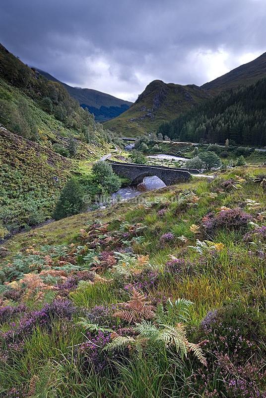 1719 Glen Shiel Battle Site - Shiel Bridge - Loch Shiel Scotland