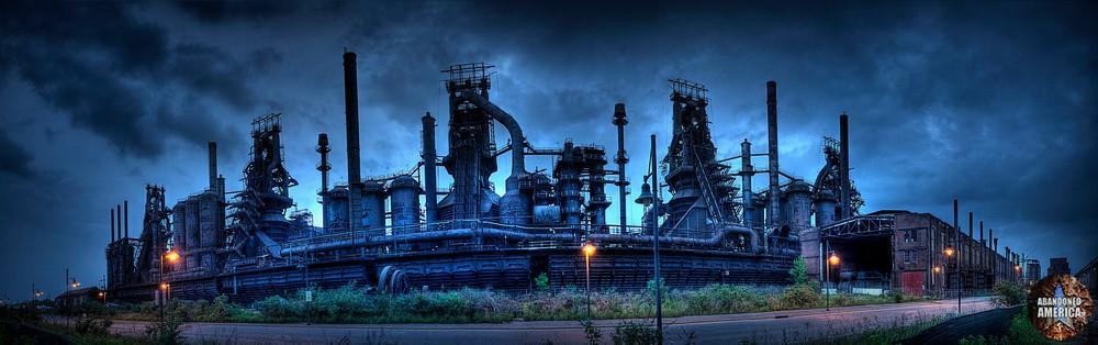 Bethlehem Steel (Bethlehem, PA) | Blast Furnace Row - Bethlehem Steel
