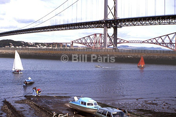 The bridges Queensferry - Land and Sea