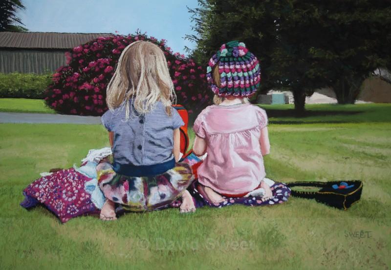 The Tea Party - Children's Portraits