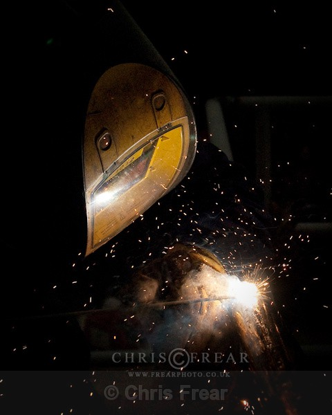 Environmental Portrait of a Industrial Welder - Industrial Welding