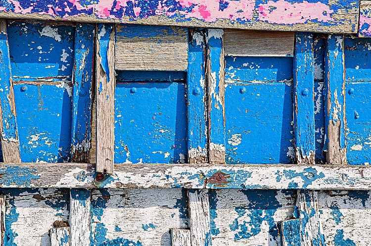 Flaky paint photograph | wooden wreck | by Colin Robb