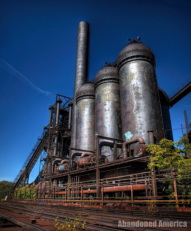 it's all a matter of perspective - Carrie Furnaces