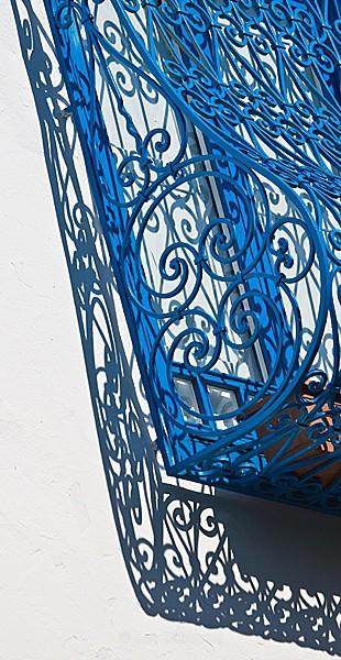 Sidi Bou Said - window detail - Tunis, Carthage and Sidu Bou Said