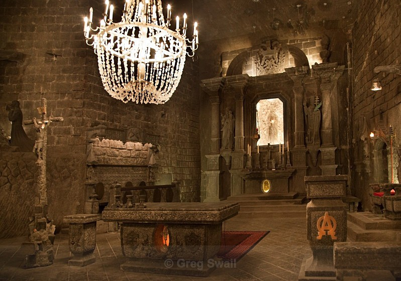 The Salt Temple, Wieliczka - City Break Photography 2005-2017