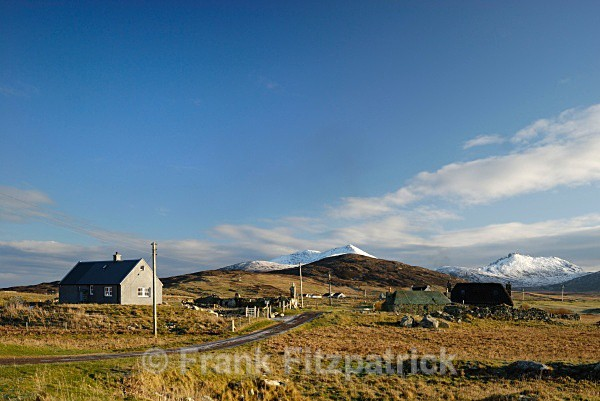 Township of Howmore, Island of South Uist, Outer Hebrides. - Island of South Uist in the Outer Hebrides