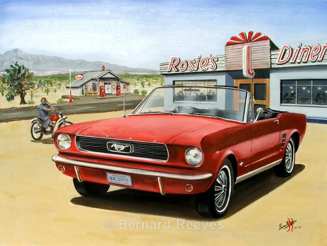 Ford Mustang 1966 Convertible Nevada - American Classics