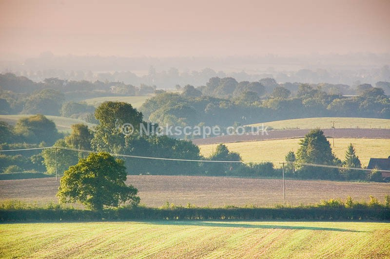 Rural Warwickshire from Snitterfield Memorial | Warwickshire Photography Gallery