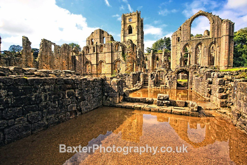 Reflections And Remains (Replete) - Fountains Abbey