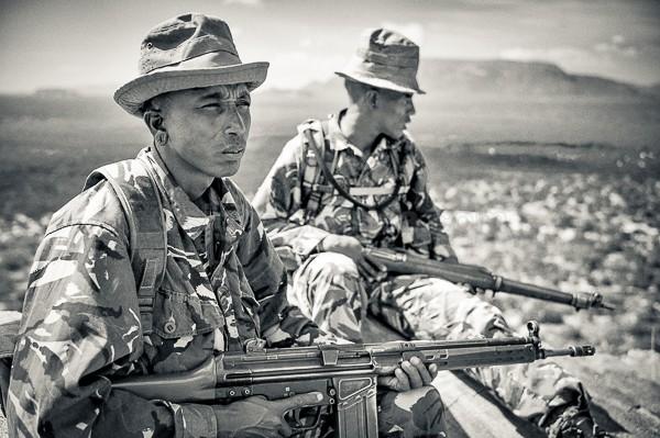 Rangers, NRT, Namunyak, Kenya