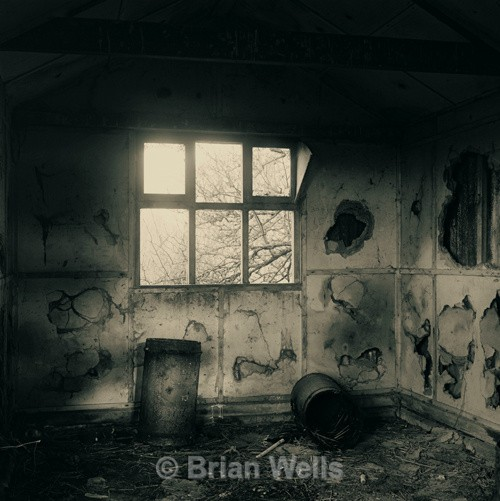 Shed Interior, Stokesby - The Black & White Gallery