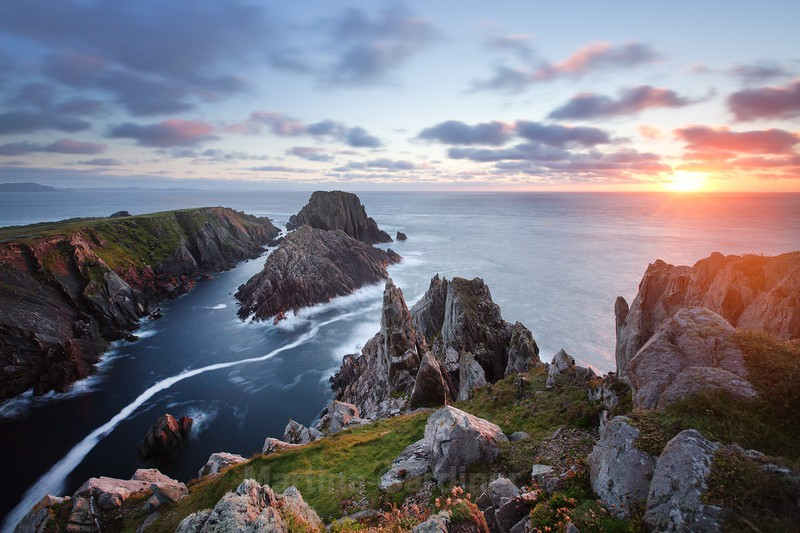 Summer Sunset at Malin Head - Ireland by Day