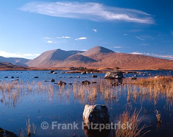 The Black Mount (Gaelic Am Monadh Dubh) - Highland