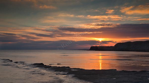 Sunset at Kimmeridge Bay - Landscape
