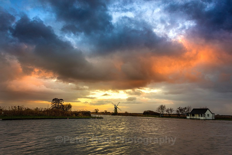 Sunset Over The Thurne