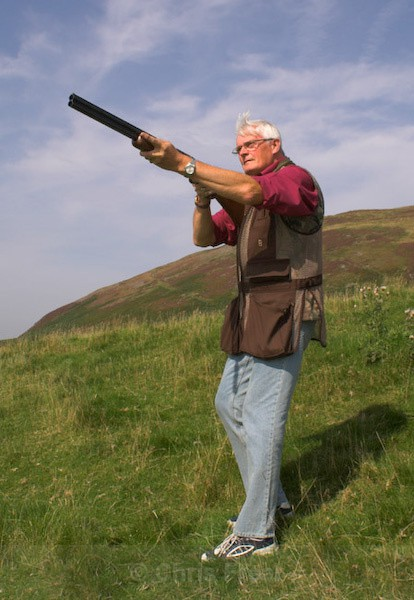 Shooting Clay Pigeons - Sports/Action Images