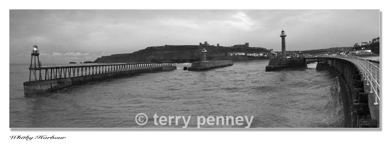Whitby-Harbour-BW - Whitby North Yorkshire