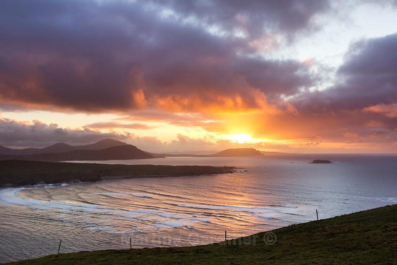 Knockamany Sunset - Ireland by Day