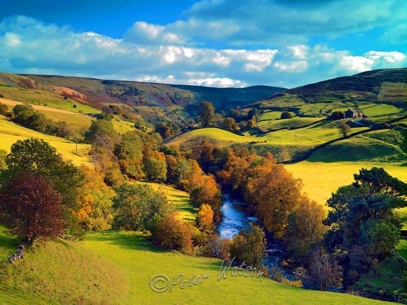 Near Keld Swaledale Yorkshire - England