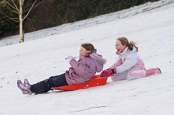 sled-17 - Sledging in the Snow