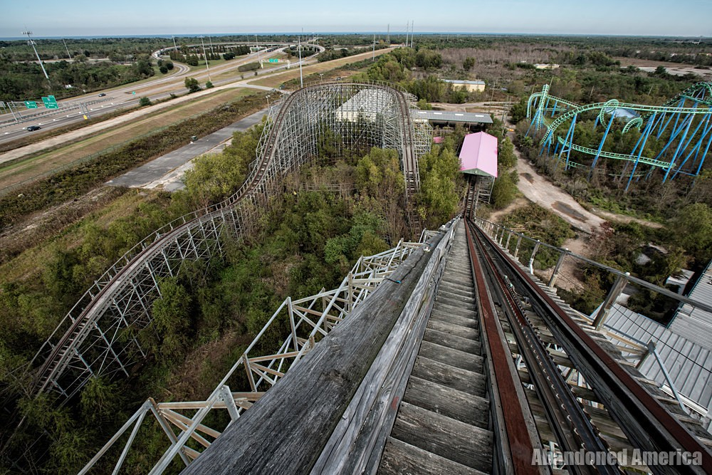 Six Flags (New Orleans, LA) | Mega Zeph Zenith - Six Flags New Orleans