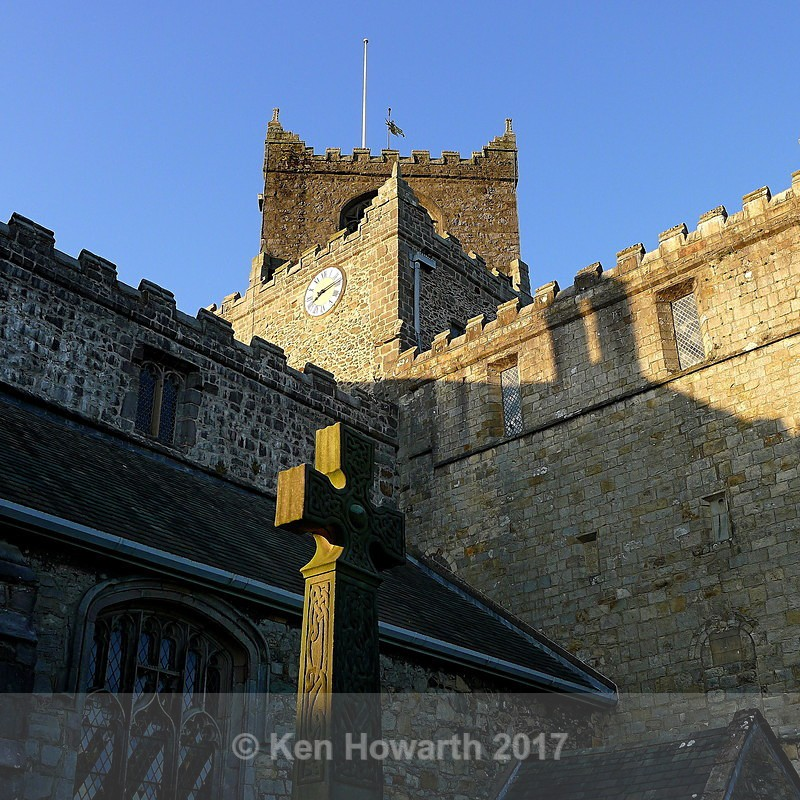 Cartmel Priory evening light - Lakeland Landscapes
