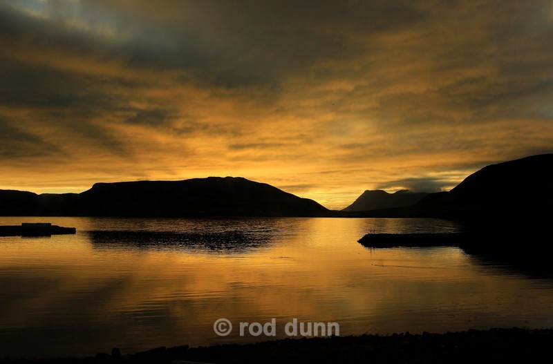 Midnight at Grundarfjordur - Iceland