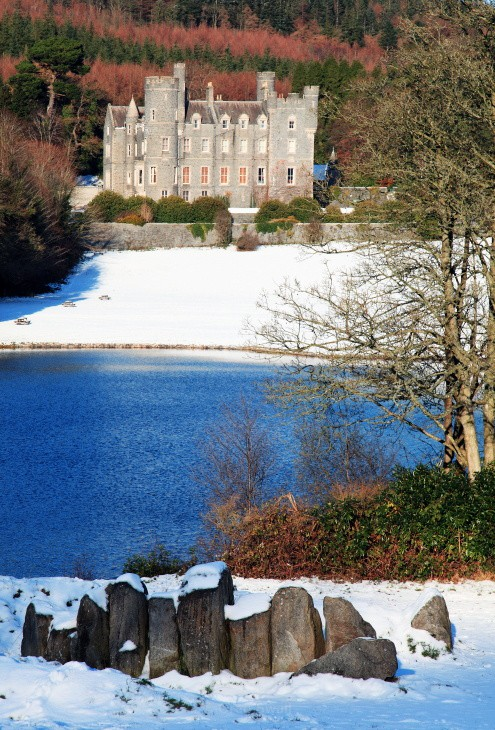 Castlewellan Park  in Winter - Landscapes of Ireland - The History