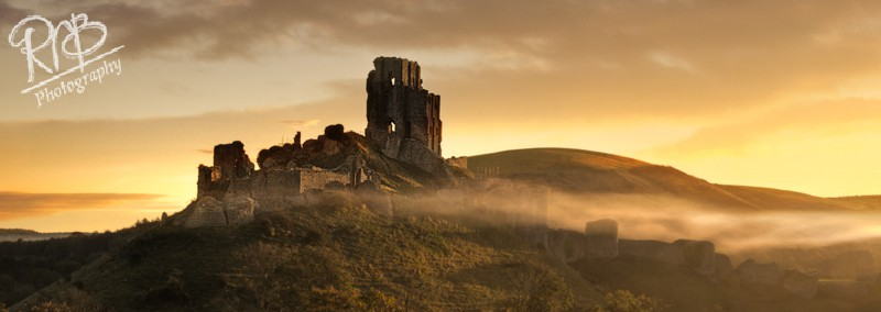 Corfe Castle - Panoramic Images