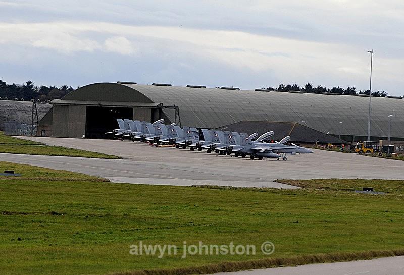 F-18 - RAF LOSSIEMOUTH VISIT NOV 2017