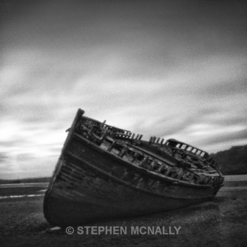 dulas wreck - Pinhole Photography