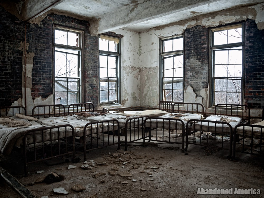 Snowy Beds | Norwich State Hospital