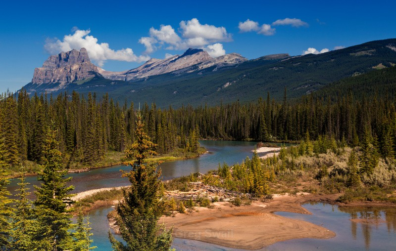 Castle Mountain - BC and the Rockies,Canada