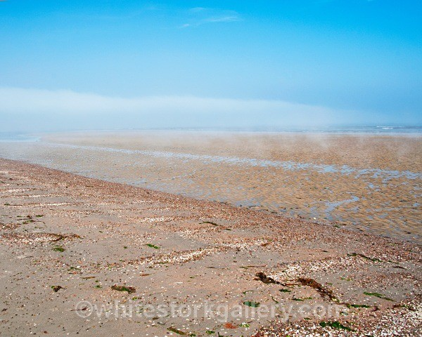 Moving Mists at Nairn Beach - Scottish Highlands