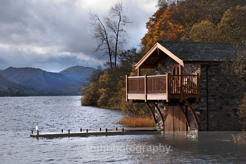 Ullswater Boathouse. - Lakedistrict