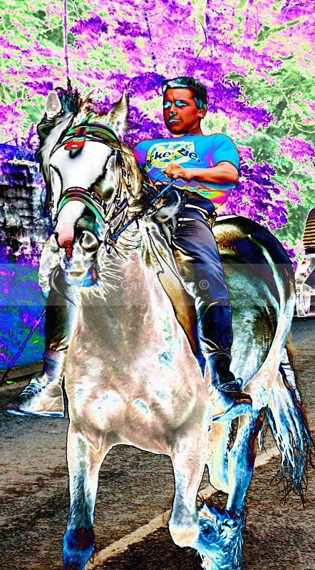 Bareback Rider - Appleby Horse Fair