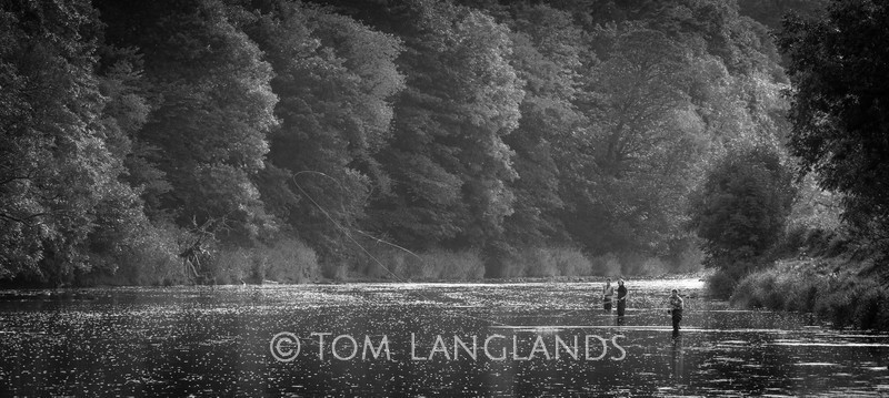 Anglers on the Annan - People