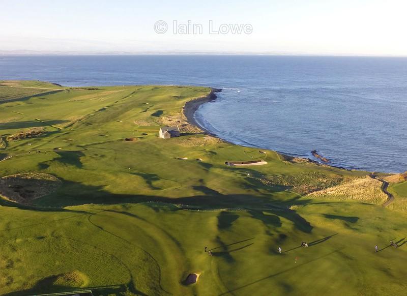 Crail Balcomie Links - Scottish Links Aerial Images