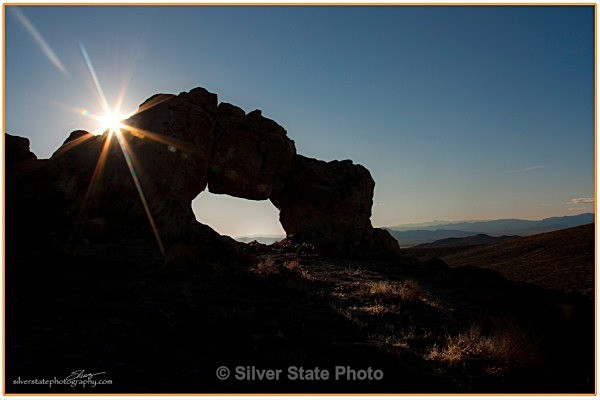 Arch in the Dead Camel Mountain Range - Nevada (mostly) Landscapes