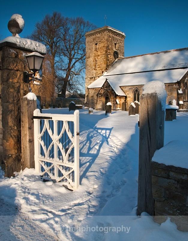 Snowy Church. - Snow Scene's /Winter