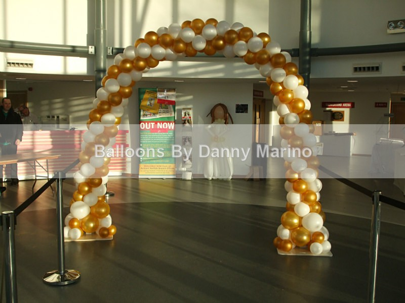 Grand arch - Wedding Balloon Photos