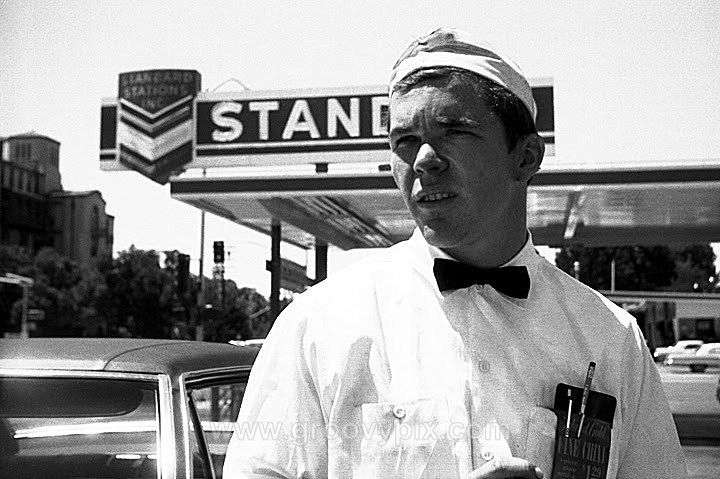 gas station 1968 - At Work
