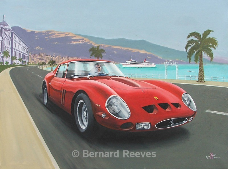 Ferrari in the South of France - Classic cars