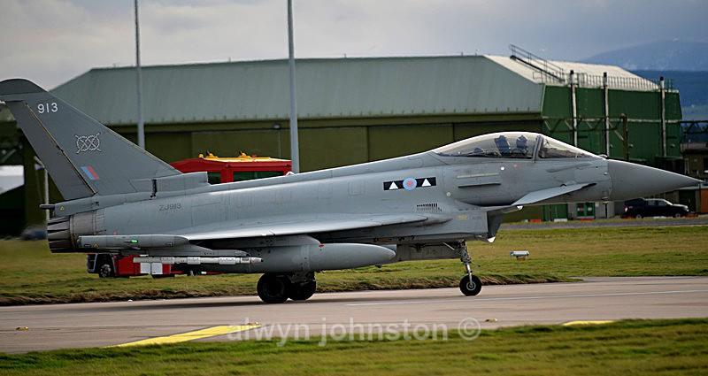 TYPHOON 6 - RAF LOSSIEMOUTH VISIT NOV 2017
