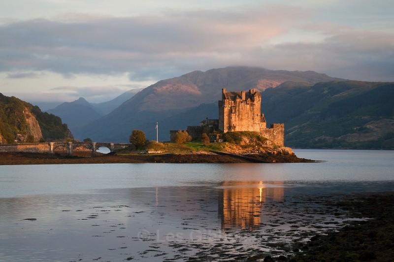 Eileen doonan castle evening view - Highlands and Islands