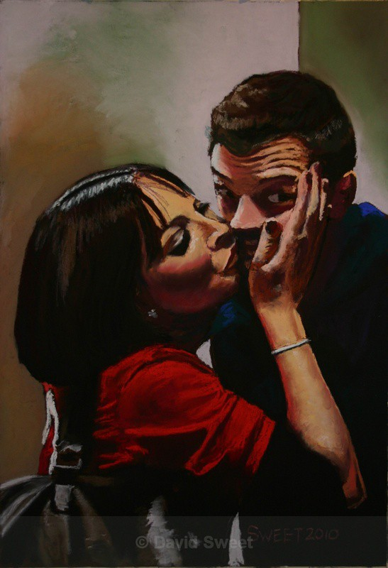 Just a kiss - Paintings