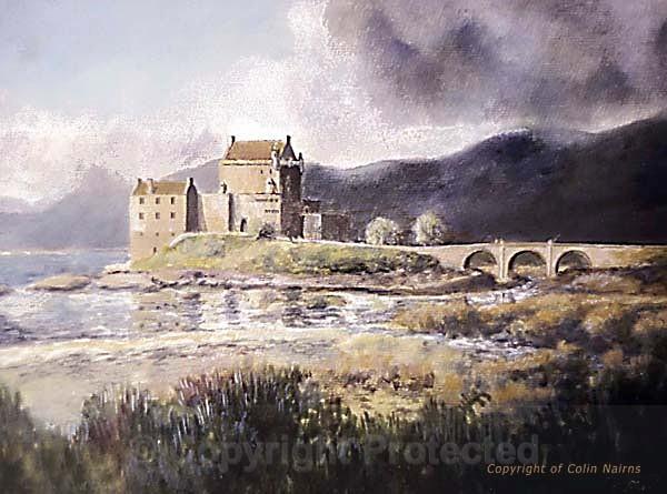 'Eilean Donan Castle' - Landscapes