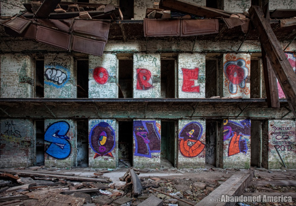 Old Essex County Prison, Newark NJ - Photographs by Matthew Christopher of Abandoned America