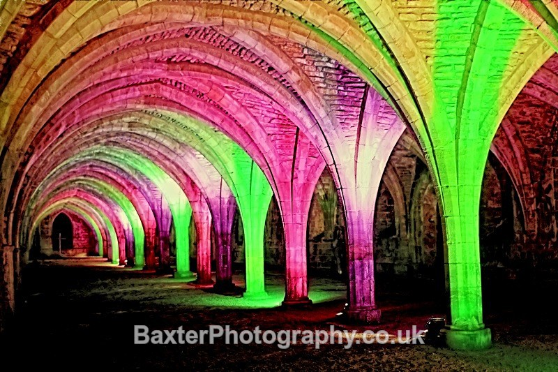 Rainbow Arches - Fountains Abbey